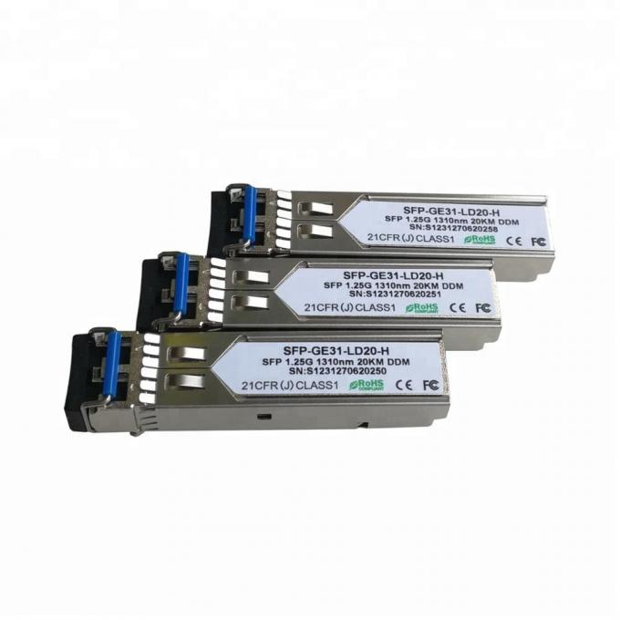 Compatible Juniper Cisco SFP Optical Transceiver Module Hot Pluggable