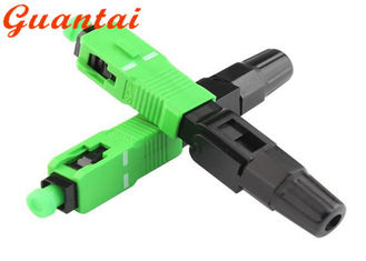 China SC / APC Fiber Optic Fast Connector Excellent Temperature Stability Custom Design supplier
