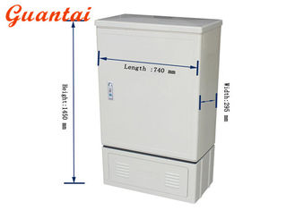 China MT-1305 288 Cores Fiber Optic Distribution Cabinet 1260 - 1620nm Operating Wavelength supplier