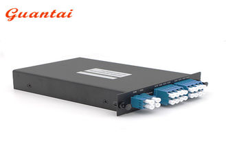 China 8 Channels CWDM Mux Demux Module 1450 - 1610nm Dual Fiber LGX Module Multiplexer supplier