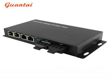 2 Fiber Port Netlink Media Converter Auto Negotiation In Fiber Optic Equipment