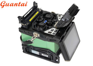Portable Fiber Optic Splicing Machine Quicker Splicing And Heating Time SH-80C