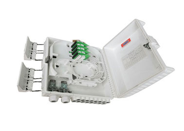 China FTTH 16 Ports Fiber Optic Termination Box Double Side Design For Easier Maintenance factory