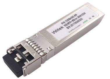 850nm Dual Mode Fiber Optic Transceiver LC Duplex Interface DOM Supporting