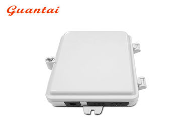 FTTH 4 - 24 Ports Outdoor Fiber Termination Box White Color IP65 Protective