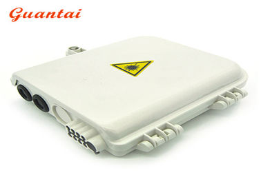 Waterproof Fiber Optic Termination Box ABS Material 210mm*260mm*80mm Size