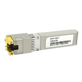 China 3.3V Power Supply Fiber Optic Transceiver 10Gbase-T Speed RJ45 Interface factory
