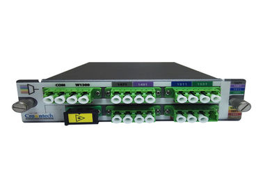 China High Power Multi Ports Optical 2U LGX LC / UPC Module 8 Channel CWDM MUX DEMUX factory