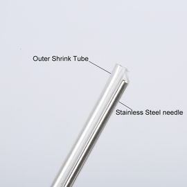 China Single 40mm 45mm 60mm Fiber Optic Fusion Splice Protector Sleeves Transparent Color factory